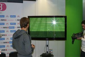 Sergio Canales jugando al FIFA13