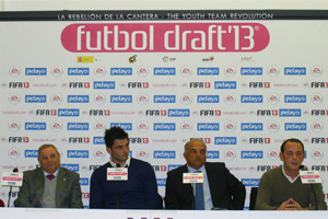 Rueda de prensa 1º Comité Futbol Draft