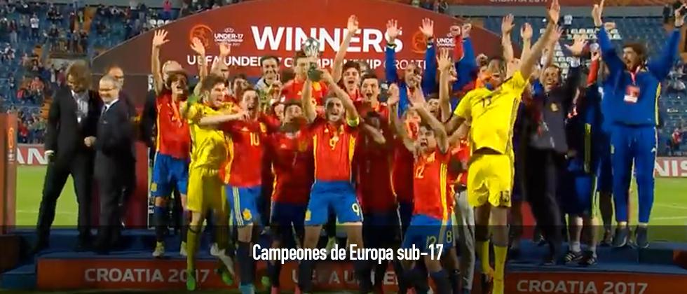 La selección sub-17 se proclama campeona de Europa