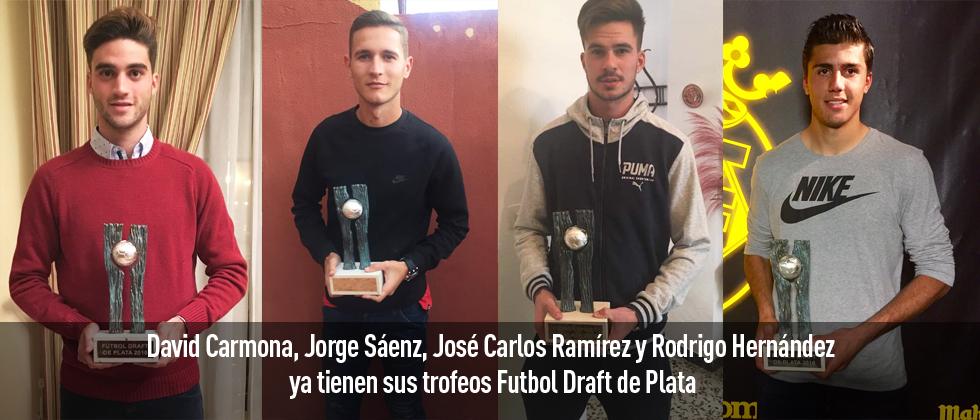 Los futbolistas premiados en la edición 2016 de Futbol Draft continúan recibiendo sus premios y mostrando su agradecimiento a Futbol Draft a través de las redes sociales