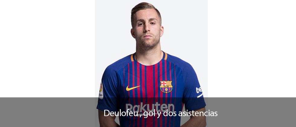 Deulofeu, gol y dos asistencias