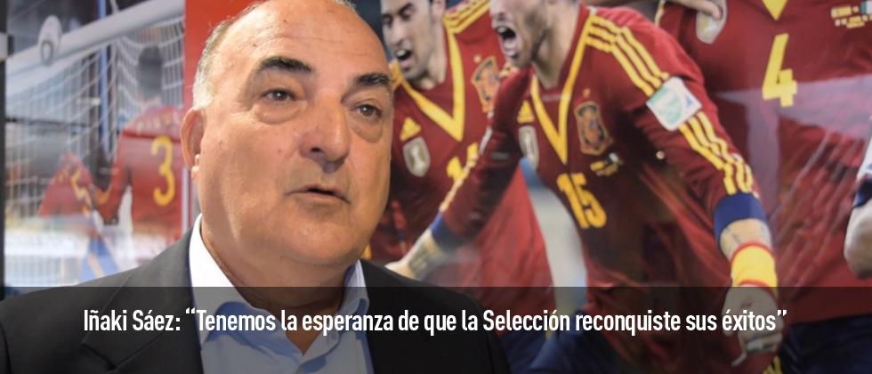 Iñaki Sáez habla para Futbol Draft sobre la próxima Eurocopa de Francia.