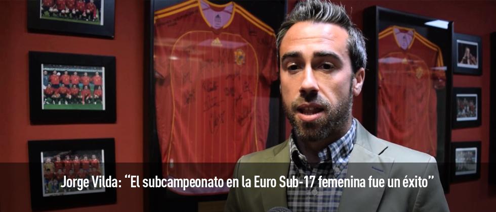 Jorge Vilda habla para Futbol Draft sobre el reciente Europeo Sub-17, la situación de la Superliga y qué significan nuestros premios para las jugadoras.