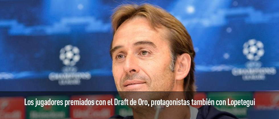 Los internacionales premiados por Fútbol Draft siguen conformando el eje de la Selección Absoluta en la nueva era