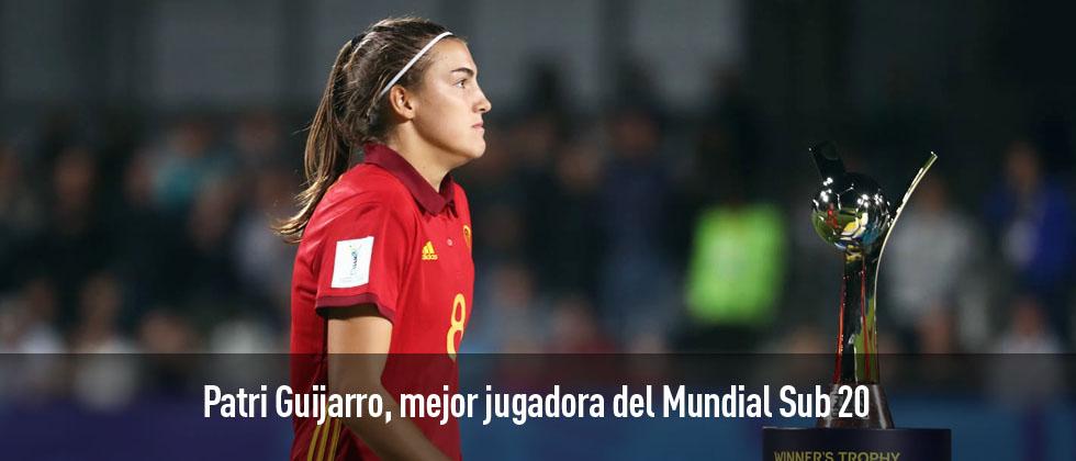 Patricia Guijarro, Balón de Oro del Mundial Sub 20