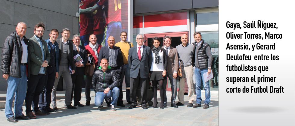 Gaya, Saúl Ñíguez, Oliver Torres, Marco Asensio, y Gerard Deulofeu entre los futbolistas que superan el primer corte de Futbol Draft