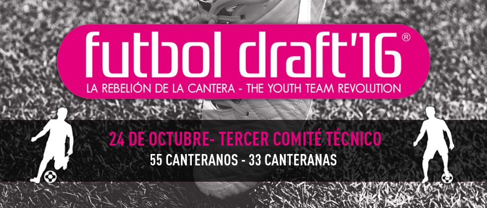 El Comité definirá la lista de los 55 jugadores y 33 jugadoras que siguen aspirando al Draft de Oro.