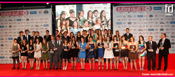 La Gala Final de Futbol Draft® 2011 reúne a la mejor cantera del mundo