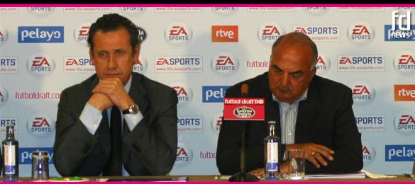 Jorge Valdano colabora en el Tercer corte de Futbol Draft® 2011