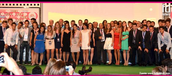 El relevo generacional de la mejor selección del mundo, reconocido en la Gala Final de Futbol Draft