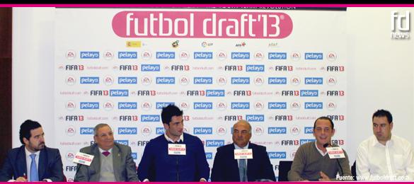 Antonio Adán participa en la elección de los 132 talentos que optan a los premios Futbol Draft 2013