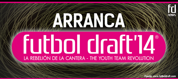 Arranca Futbol Draft 2014