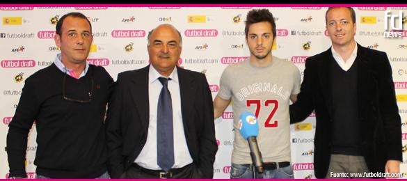 Pablo Sarabia, participa en el segundo Comité Técnico de Futbol Draft 2014