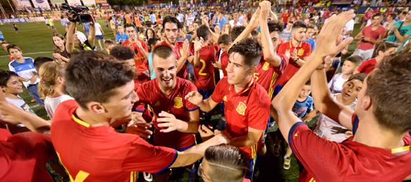Continúan los éxitos de la cantera del fútbol español