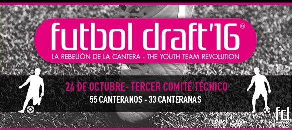 Futbol Draft celebrará su tercer Comité Técnico del año el próximo 24 de octubre