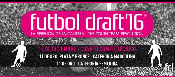 El último Comité Técnico de Futbol Draft se celebrará el próximo 19 de diciembre