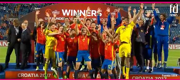 Campeones de Europa sub-17