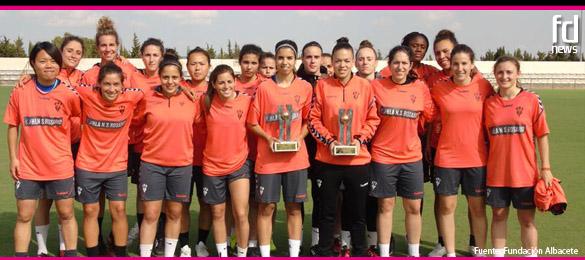 Alba Redondo y Noelia Villegas, premiadas en el Once de Oro de Futbol Draft