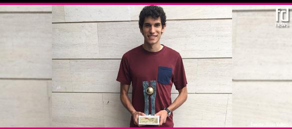 Jesús Vallejo ya tiene en sus manos el Premio Futbol Draft® de Oro 2017
